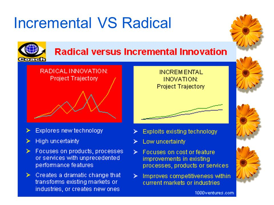 Incremental VS Radical