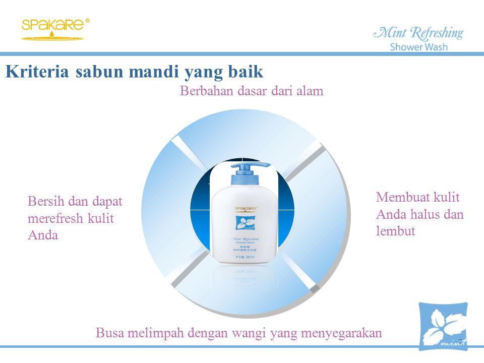 Menyegarkan dan menyenangkan Mint Alami Keep moistures Faktor pelembab Alami Membersihkan dan menghilangkan bau yang tidak sedap Antibakteri Komposisi Utama 8