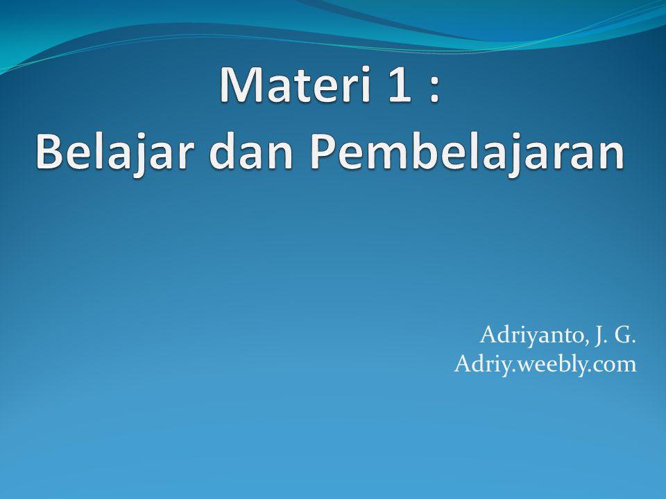 Adriyanto, J. G. Adriy.weebly.com