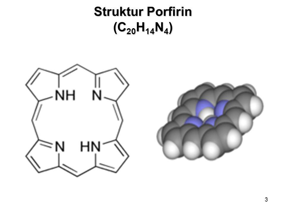 3 Struktur Porfirin (C 20 H 14 N 4 )