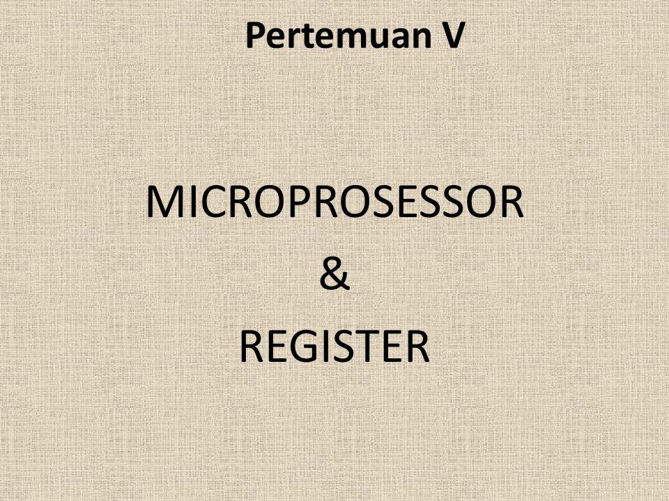 Sejarah MICROPROSESSOR