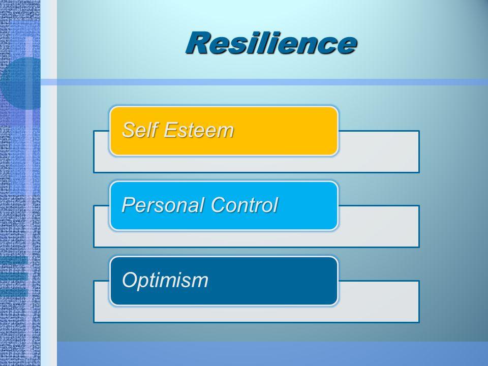 Orang yang resilien bisa jadi memiliki sifat yang diturunkan, seperti temperamen yang relatif mudah, sehingga memungkinkan bagi mereka untuk lebih mudah menyesuaikan diri terhadap tekanan dan benturan.