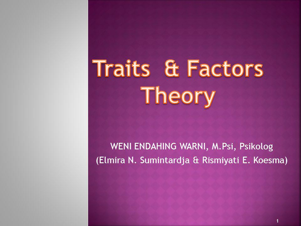 WENI ENDAHING WARNI, M.Psi, Psikolog (Elmira N. Sumintardja & Rismiyati E. Koesma) 1