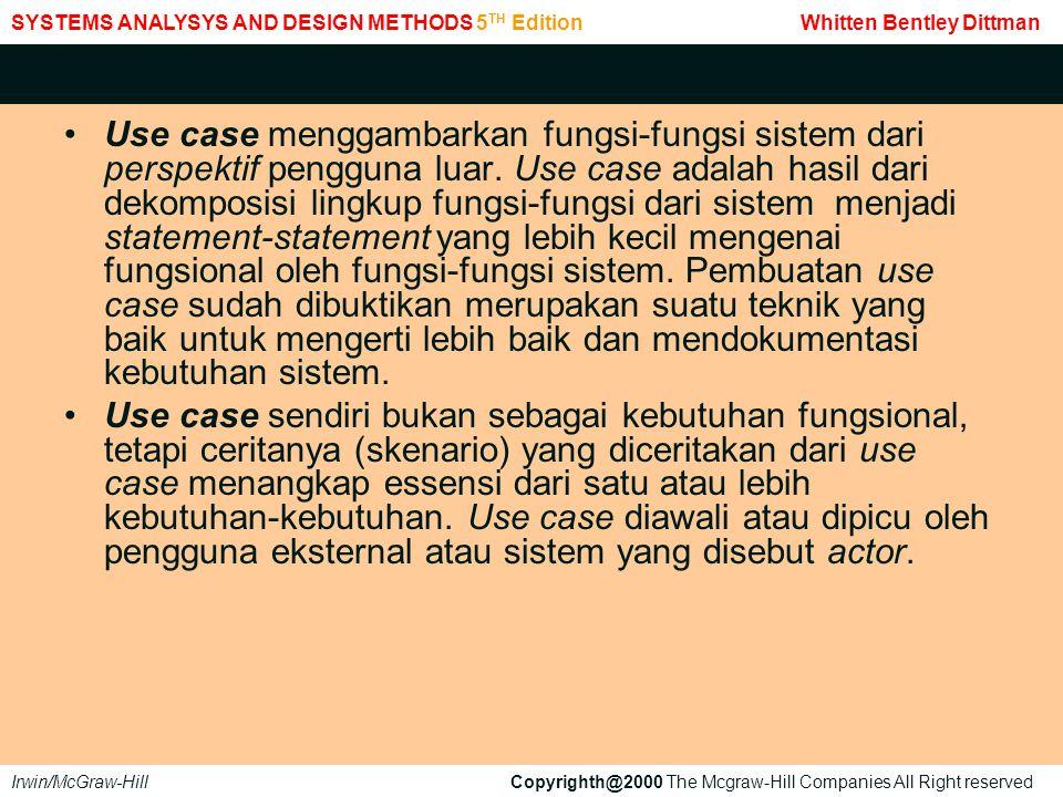Gambar use case dari kasus diatas dapat dilihat pada gambar di bawah ini.