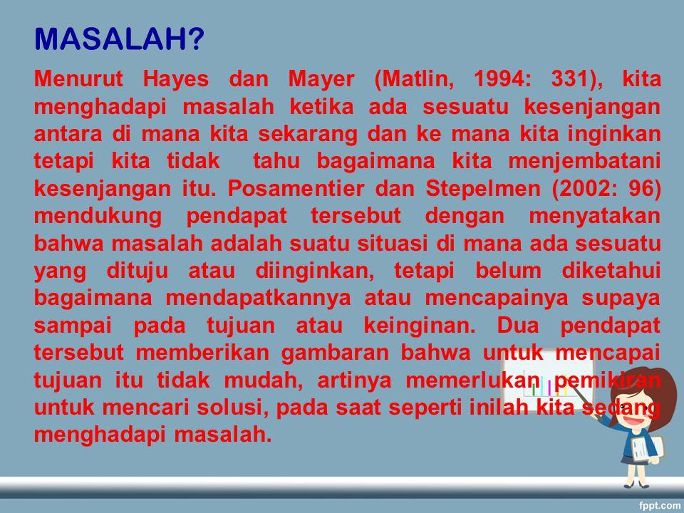 MASALAH.