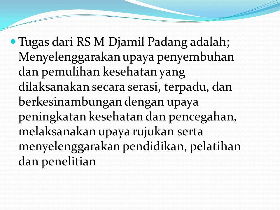 Hal tersebut sesuai dengan : UU Republik Indonesia No 44 tahun 2009 tentang Rumah Sakit dan PerMenKes No: 1681/ Menkes/ Per/ XII/ 2005, tentang Struktur Organisasi dan Tata Kerja (SOTK) RSUP DR.