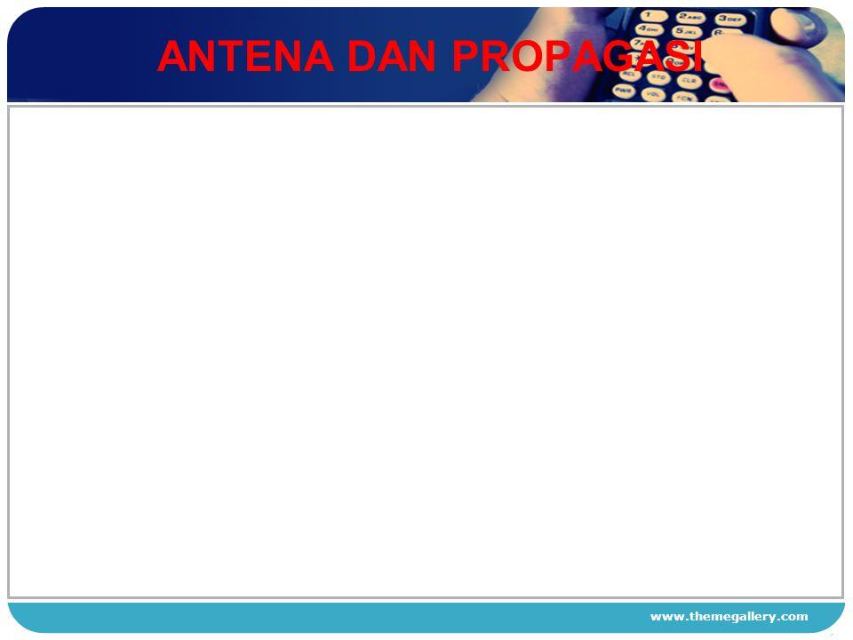 www.themegallery.com ANTENA DAN PROPAGASI 1 2 3 4