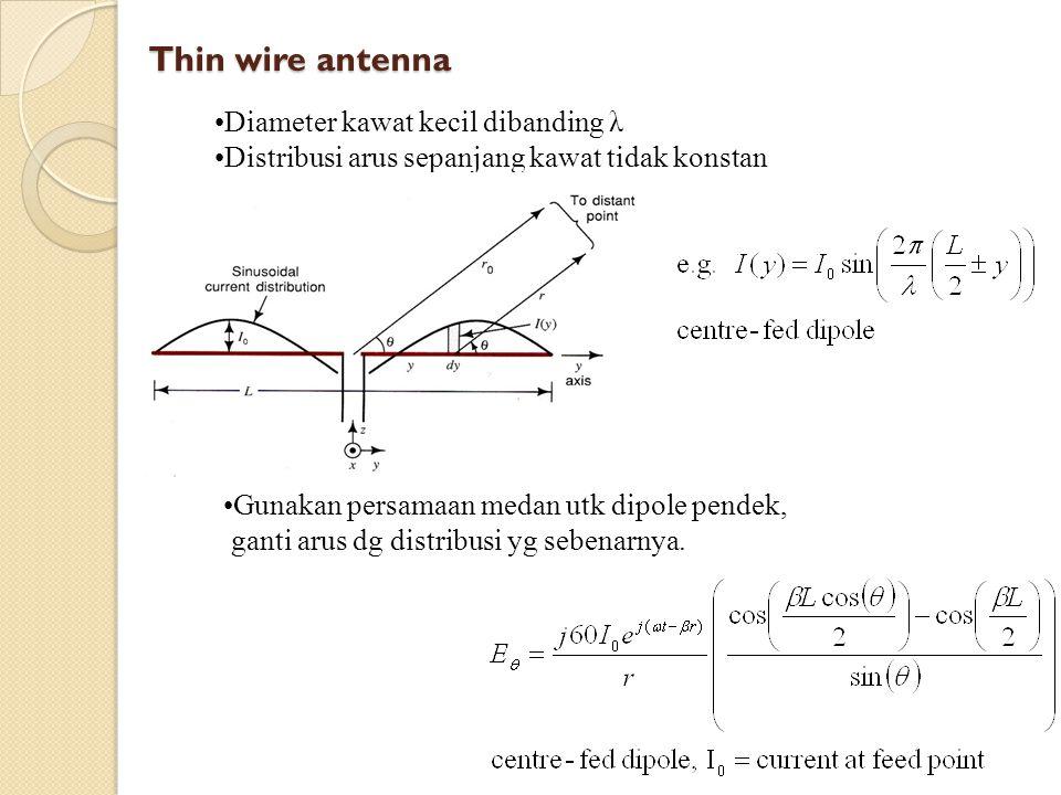 Thin wire pattern