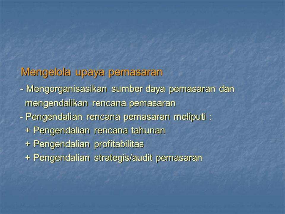 1.Strategi Pemasaran 1.