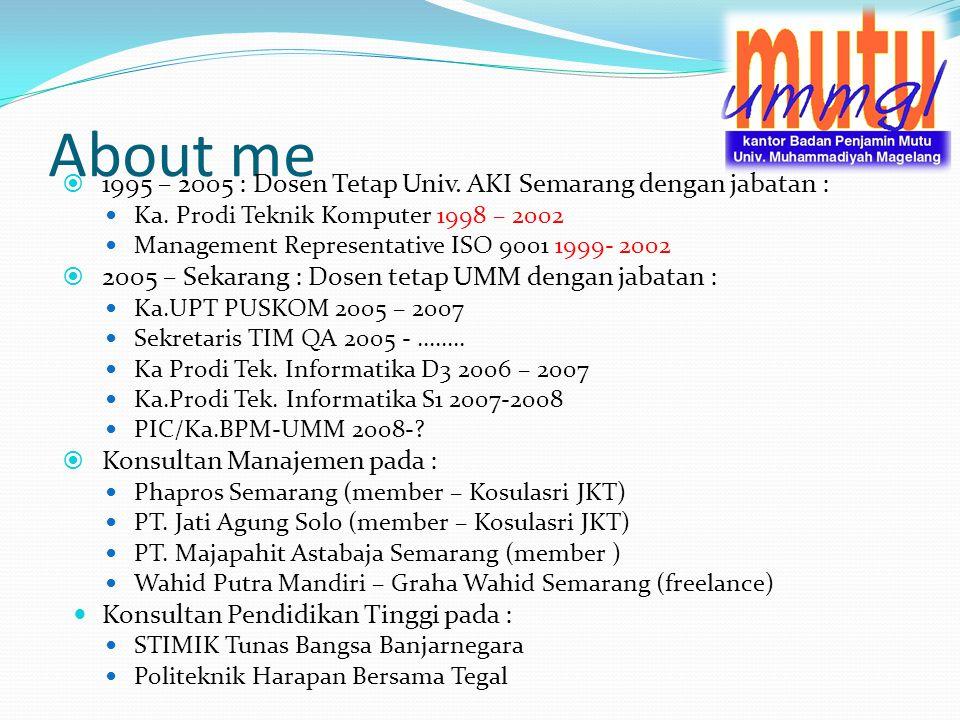 Kerja Kelompok Kelompok : min 3 max 5 orang Tugas : membuat visi dan misi organisasi Waktu 15 menit Presentasi (random)
