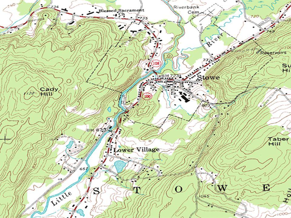 DEFINISI: Peta topografi adalah representasi grafis dari bagian permukaan bumi yang ditarik ke skala, seperti yang terlihat dari atas.
