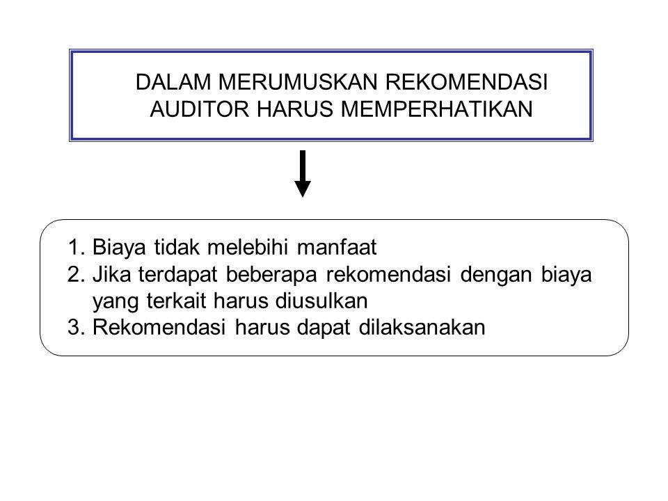 DISKUSI Membahas kasus untuk merumuskan suatu temuan dan rekomendasi