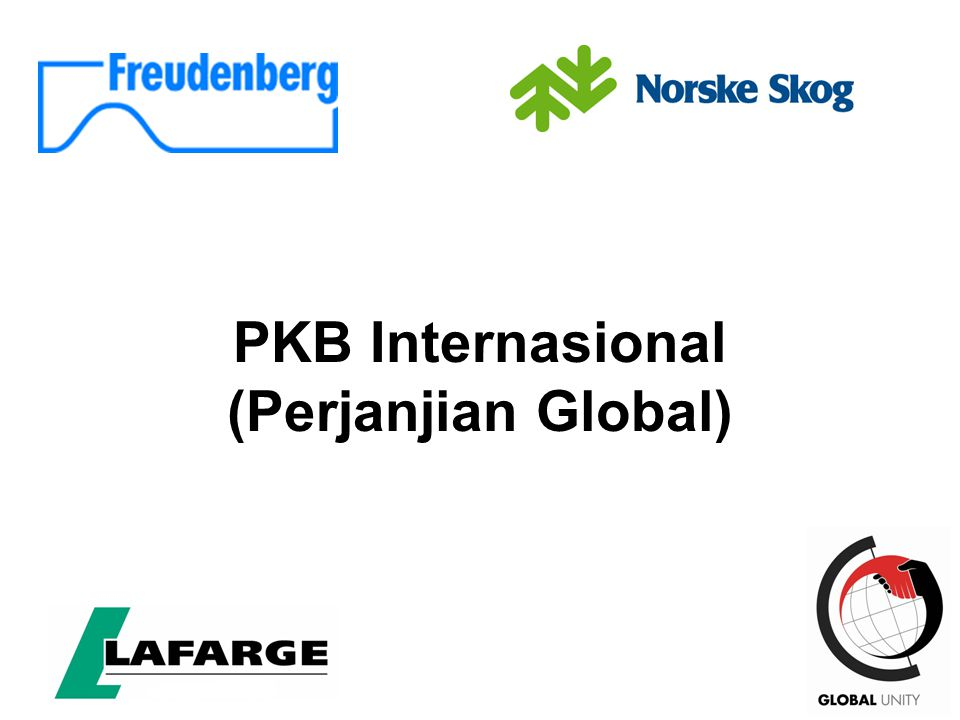 49 PKB Internasional (Perjanjian Global)