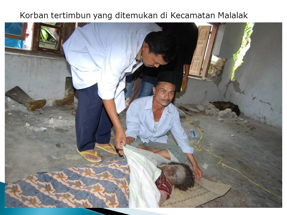Korban tertimbun yang ditemukan di Kecamatan Malalak
