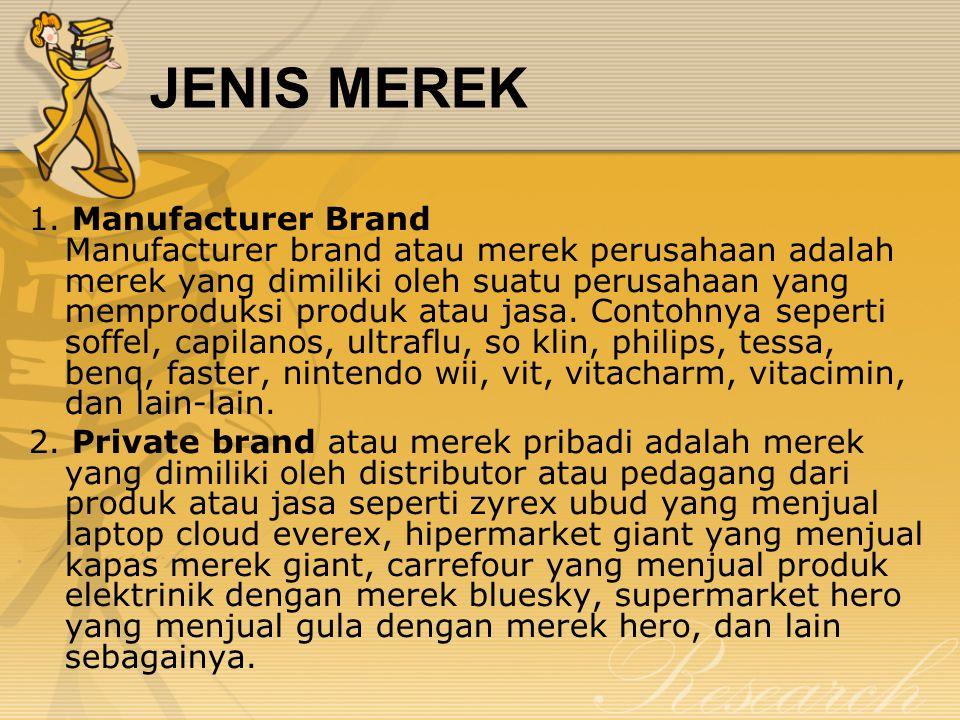 JENIS MEREK 1.