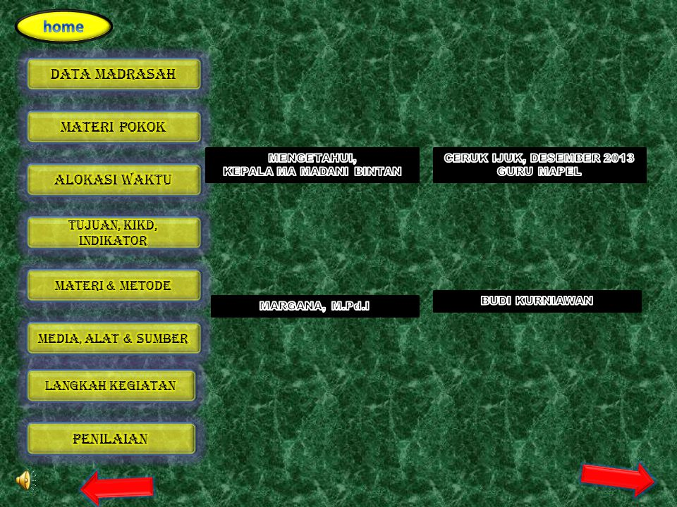 NoNama SiswaKeterampilan Menerapkan konsep/prinsi p dan strategi pemecahan masalah KTTST 1 2 3 4 5 6 7 8 9 10 11 12 13 14 15 Bubuhkan tanda √ pada kol