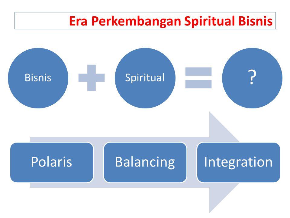 Era Perkembangan Spiritual Bisnis PolarisBalancingIntegration BisnisSpiritual