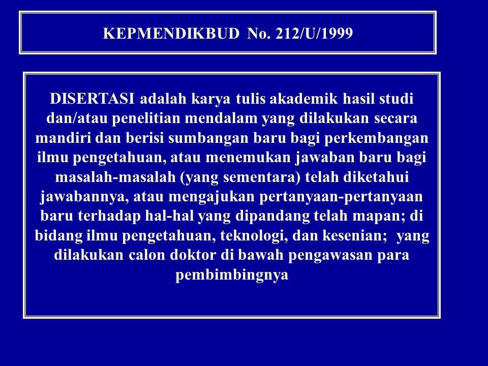 PEDOMAN PENULISAN RINGKASAN HASIL PENELITIAN DISERTASI PEDOMAN PENULISAN RINGKASAN HASIL PENELITIAN DISERTASI (Ringkasan di dalam naskah DISERTASI) A.