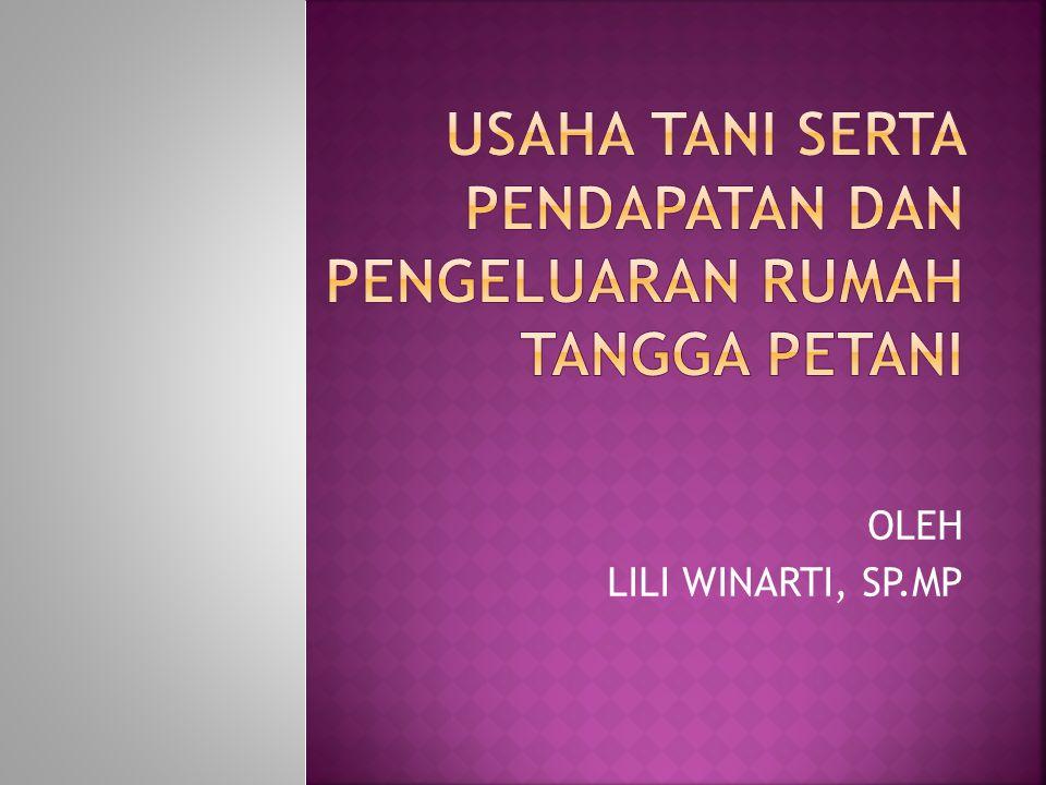 OLEH LILI WINARTI, SP.MP