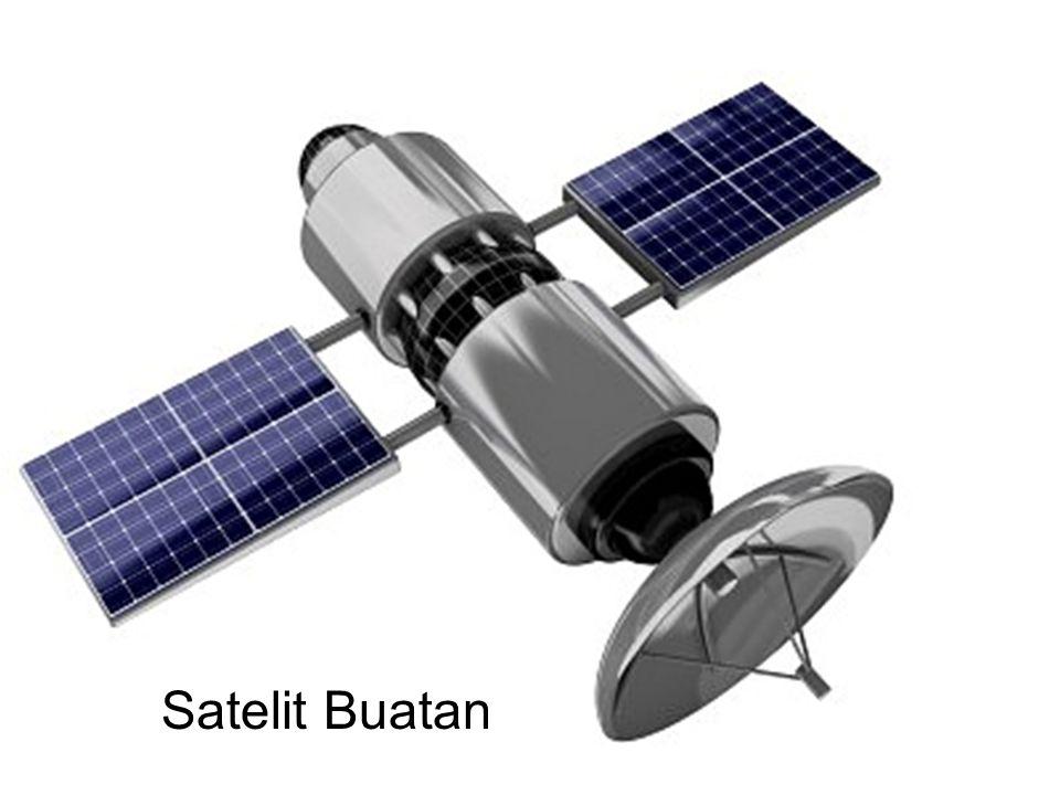 Elemen Utama Komunikasi Satelit Segmen Angkasa.◦ Satelit.