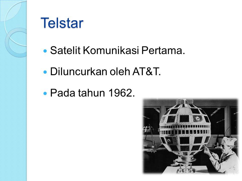 Penggunaan Satelit Saat Ini…