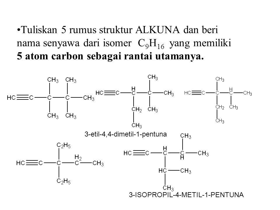 3-ISOPROPIL-4-METIL-1-PENTUNA 3-etil-4,4-dimetil-1-pentuna