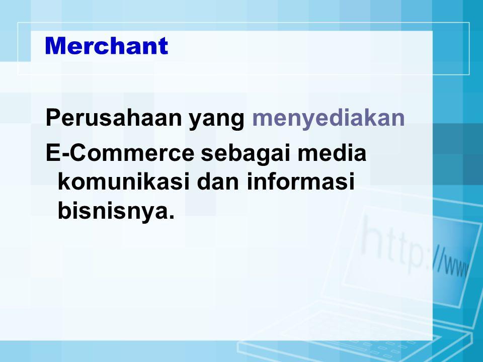 6.Telephone Billing System Transaksi melalui telepon, yang mana mengijinkan customer untuk membeli barang dengan pembayaran akan disertakan kerekening telepon.