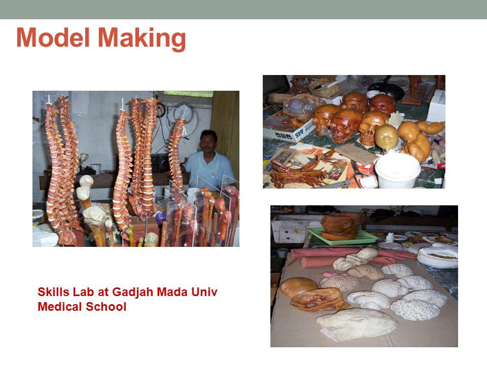 Model Making Skills Lab at Gadjah Mada Univ Medical School