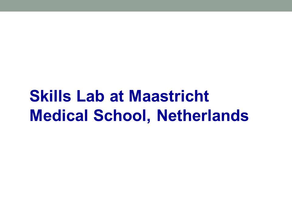 Skills Lab at Maastricht Medical School, Netherlands