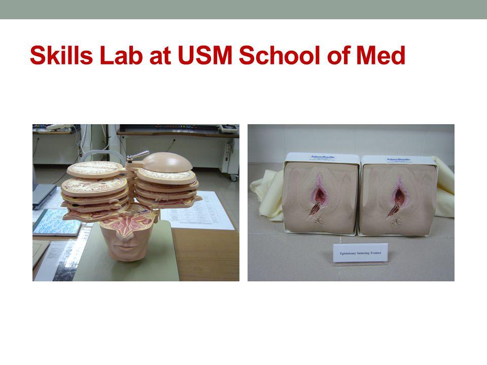 Skills Lab at USM School of Med