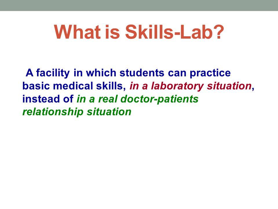 What is Skills-Lab.