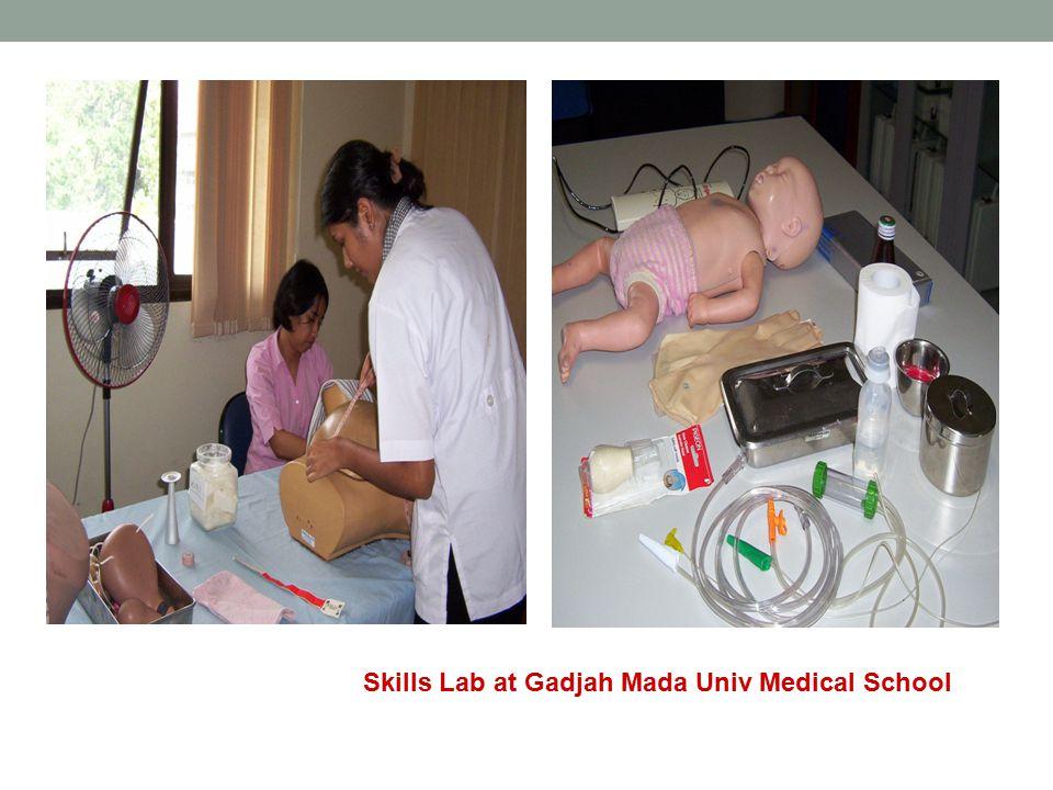 Skills Lab at Gadjah Mada Univ Medical School