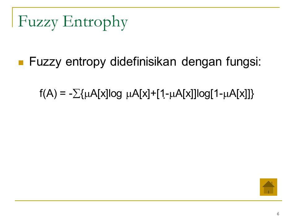 7 Fuzzy C-Means (FCM) Fuzzy clustering adalah salah satu teknik untuk menentukan cluster optimal dalam suatu ruang vektor yang didasarkan pada bentuk normal Euclidian untuk jarak antar vektor.
