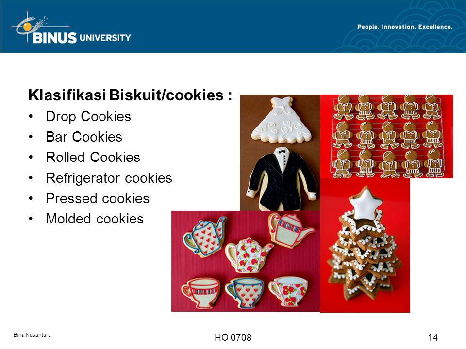 SWEETS Bina Nusantara HO 070815 1. Pudding 2. Ices