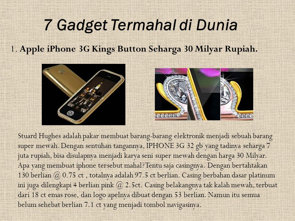 2.Ginza Tanaka Handbag seharga $1.63 Juta Dollar.