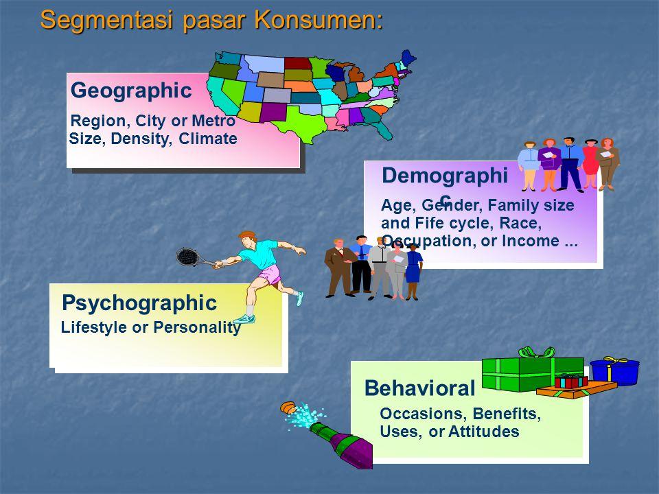 3.Persyaratan segmentasi efektif : 3.