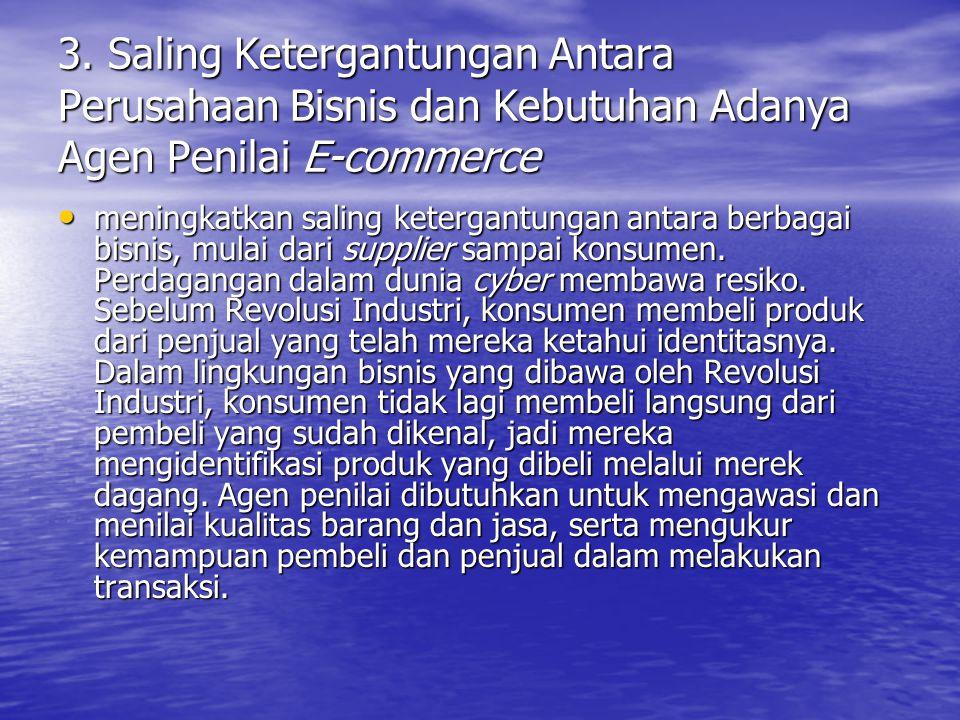2. Potensi untuk Menciptakan Pasar Baru E-commerce membuka kesempatan untuk menciptakan pasar yang lebih luas sehingga dapat memenuhi permintaan yang