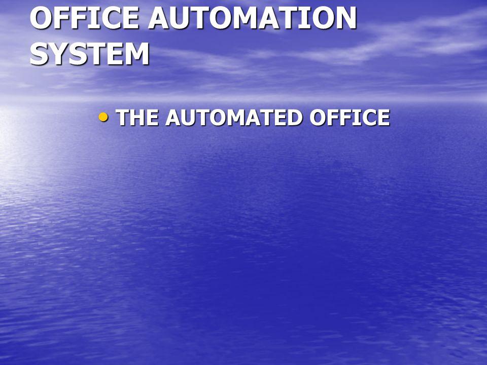 Hal itu telah dipikirkan, pada tahun 1950, komputer akan mengikis tanggung-jawab middle manajemen.