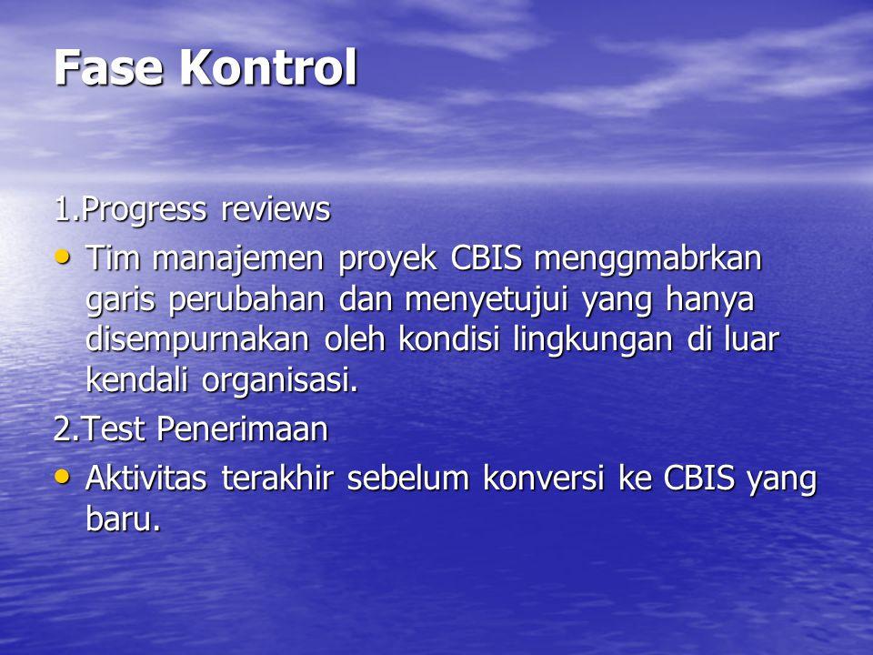 3 Integritas Operasi Integritas operasi pada CBIS berhadapan dengan penghilangan error dalam proses.