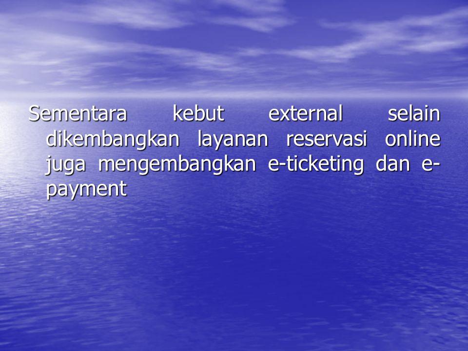Merpati Nusantara Airlines Pertama kali dunia penerbangan di Indonesia menggunakan IT merpati internet reservation access ( MIRA) yg memungkinkan pelanggan dpt melakukan reservasi setiap saat tanpa harus datang ke kantor merpati.