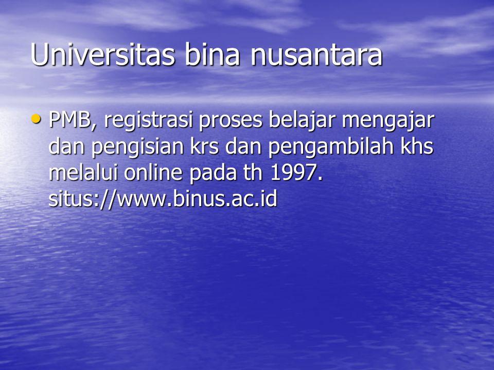 Sementara kebut external selain dikembangkan layanan reservasi online juga mengembangkan e-ticketing dan e- payment