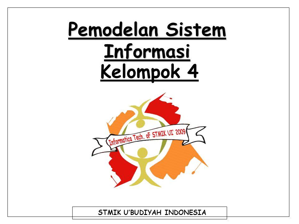 Pemodelan Sistem Informasi Kelompok 4 STMIK U'BUDIYAH INDONESIA