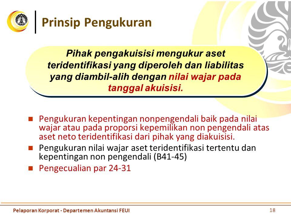 Pengecualian Pengakuan Pengukuran Pengakuan   liabilitas kontijensi (PSAK 57 tidak berlaku) Pengukuran dan pengakuan   pajak penghasilan (PSAK 46),  imbalan kerja (PASK 24),  aset idemnifikasi (nilai yang dijamin).