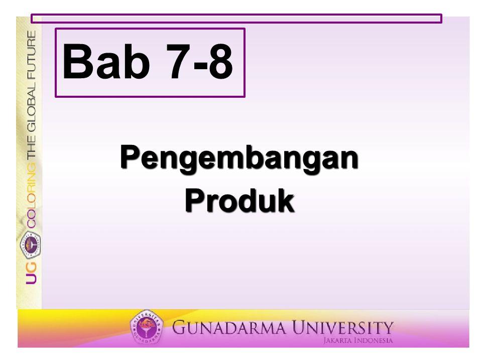 PengembanganProduk Bab 7-8