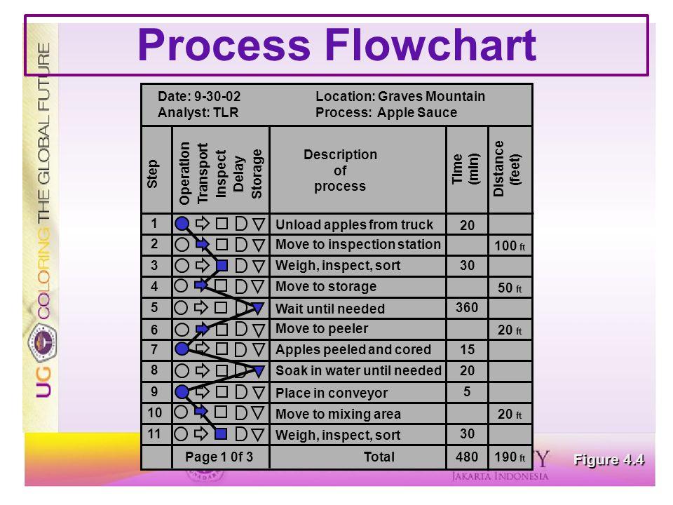 Process Flowchart Figure 4.4
