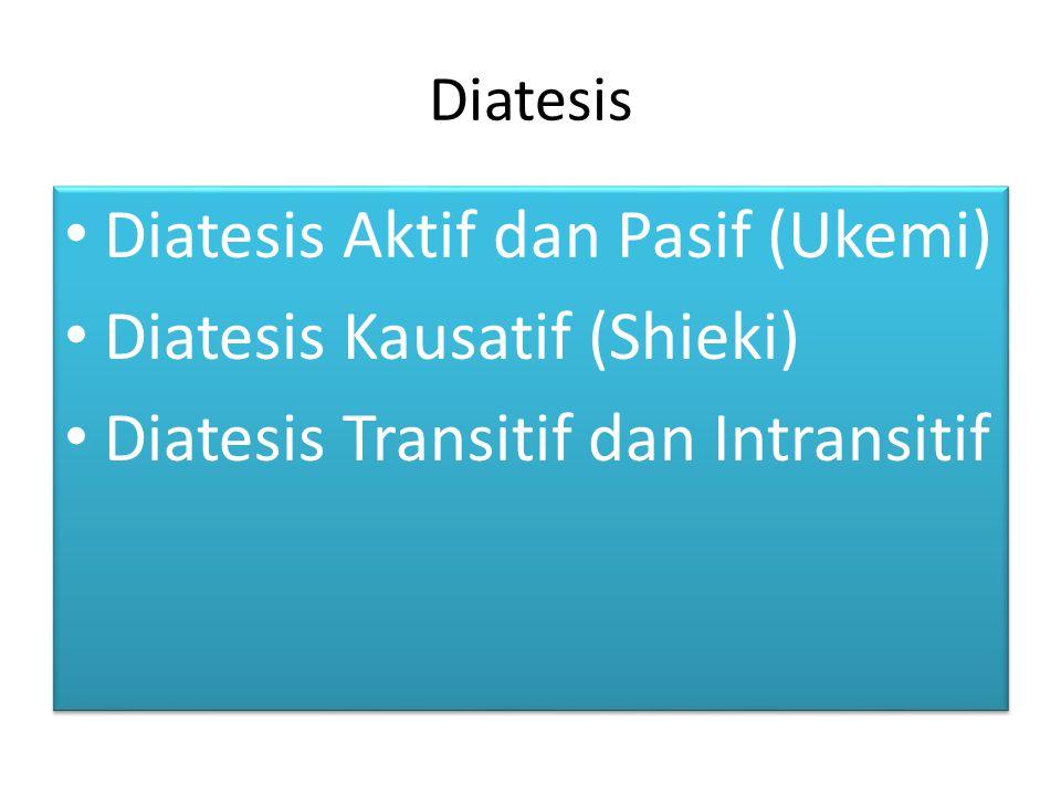 Diatesis Aktif dan Pasif (1)
