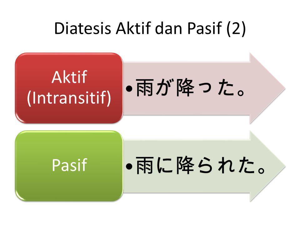 Diatesis Kausatif (1)