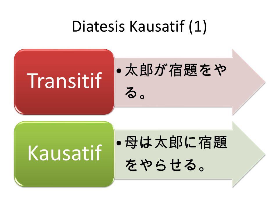 Diatesis Kausatif (2)