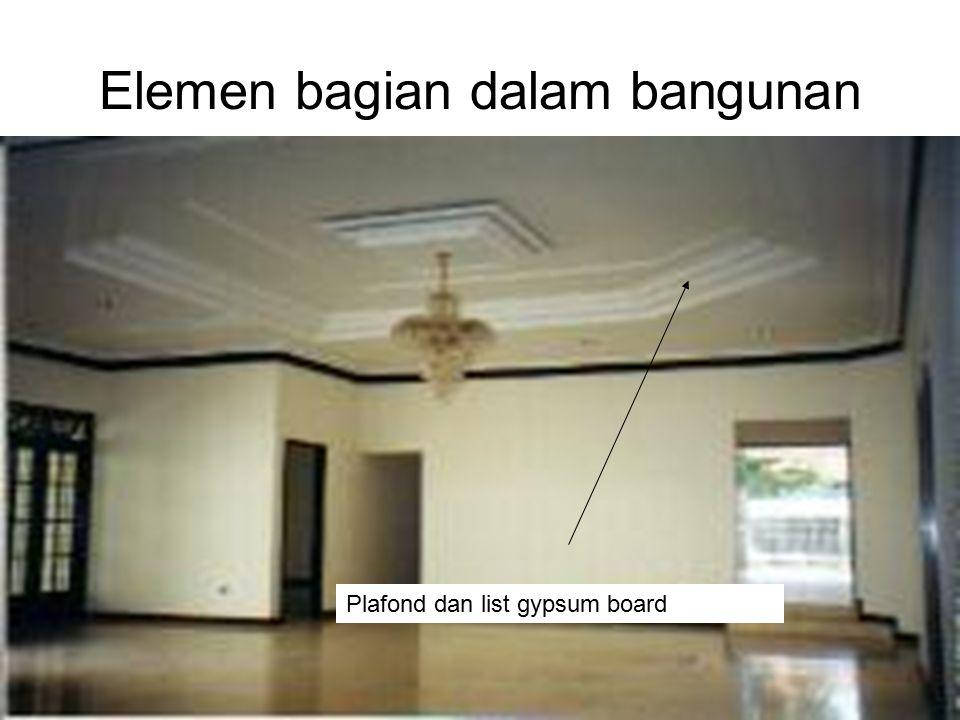 Ir. Sylvie Wirawati, MT Presentation for Century 21Jakarta, 4 th June 2002 Elemen bagian dalam bangunan Plafond dan list gypsum board