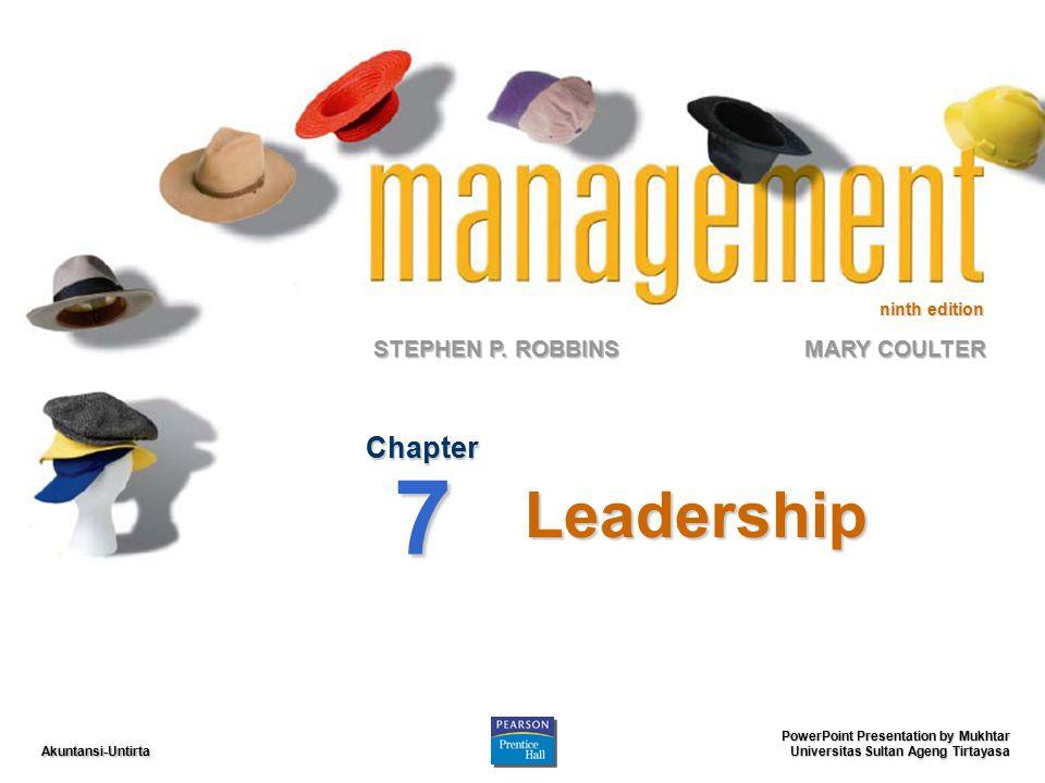 Akuntansi-Untirta Leaders and Leadership Leader – seseorang yang dapat memperngaruhi orang lain dan orang yang memiliki kewenangan manjerial.Leader – seseorang yang dapat memperngaruhi orang lain dan orang yang memiliki kewenangan manjerial.